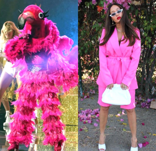 "Adrienne Bailon Revealed As The Flamingo On ""The Masked Singer"""