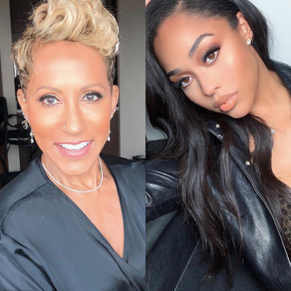 Jada Pinkett Smith's Mom Adrienne Norris Is Proud Jordyn Woods Passed Lie Detector Test Over Tristan Thompson Scandal, Says Jordyn Did Apologize To Khloe Kardashian 'From The Texts I Saw'