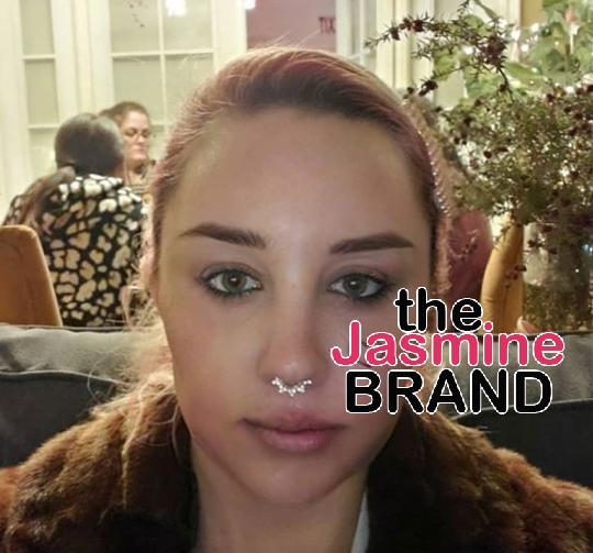 Amanda Bynes Debuts New Face Tattoo