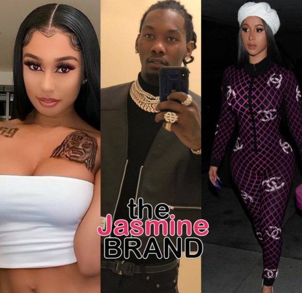 Cardi B Says Husband Offset's Social Media Was Hacked, Amidst Him Being Accused Of DMing Tekashi's 6ix9ine's Girlfriend [VIDEO]