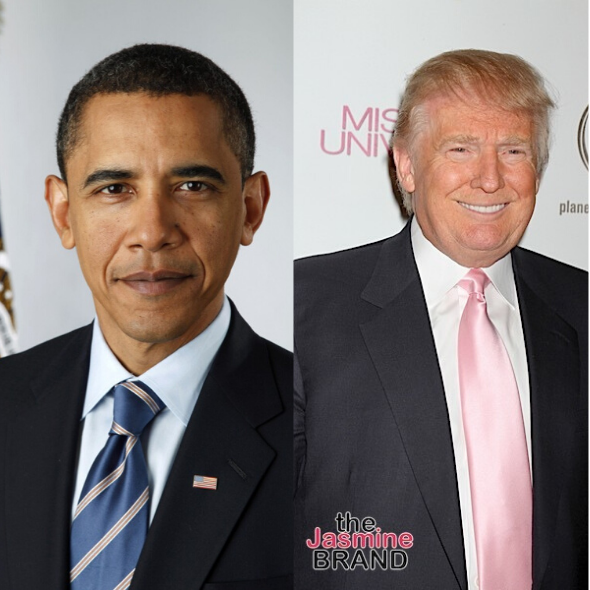 Donald Trump Allegedly Refuses To Unveil Barack Obama Portrait, Accuses Obama Of Trying To Remove Him From Office