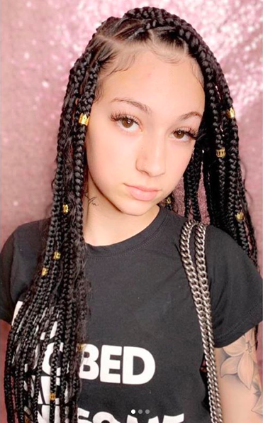 Bhad Bhabie To Black Women Who Say Her Braids Are Culture Appropriation: Y'all Hair Ain't Meant To Be Straight, But Y'all Glue Whole Wigs On To Your Heads