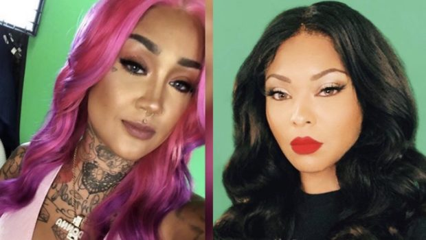 """Black Ink Crew's"" Donna Lombardi & Kit Sovain Feud On Instagram: ""Be Happy Somebody Cares About Your Story Line!"""