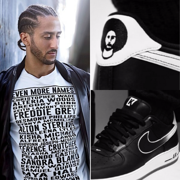 Colin Kaepernick Teases New Line With Nike