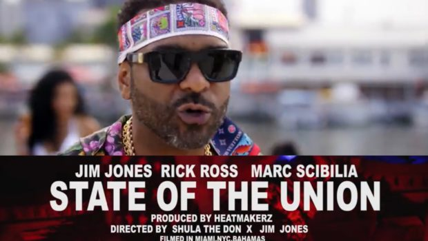 "Jim Jones Releases ""State Of The Union"" Video Feat. Rick Ross [WATCH]"