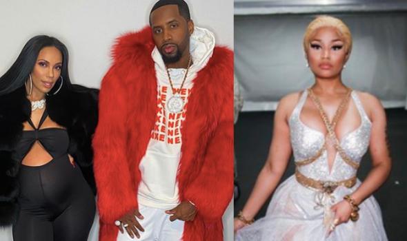 Safaree Samuels & Erica Mena Accused Of Having A Man Jumped – Allegedly Because Of Nicki Minaj [WATCH]