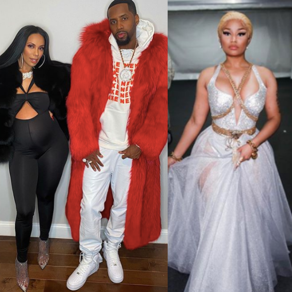 Safaree Samuels & Erica Mena Accused Of Having A Man Jumped – Allegedly Because Of Nicki Minaj [WATCH]