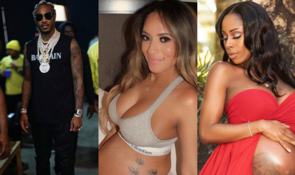 Future's Alleged Baby Mamas Eliza Reign & Cindy Renae Get DNA Tests To Prove Their Children Are Siblings