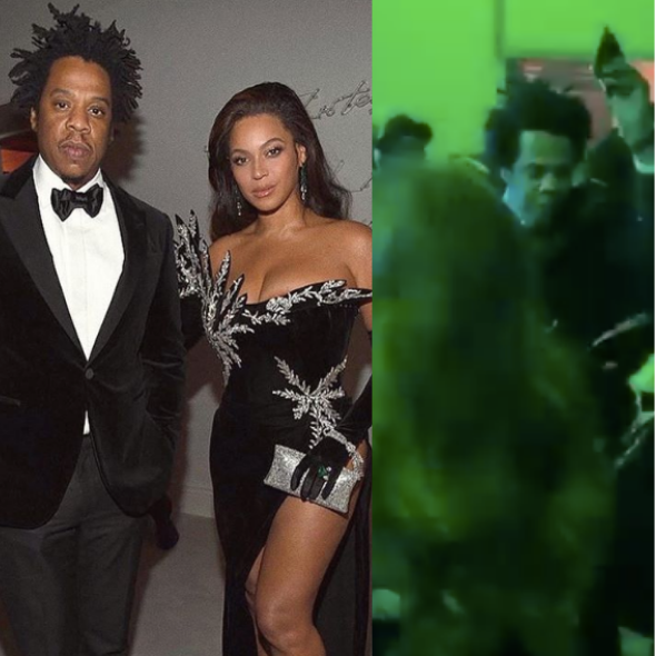Jay-Z Spotted Snatching Phone From Fan Who Was Trying To Record Beyonce Dancing [WATCH]