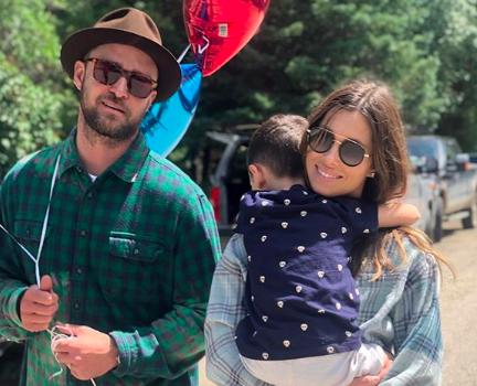 Justin Timberlake & Jessica Biel Welcome Baby #2!