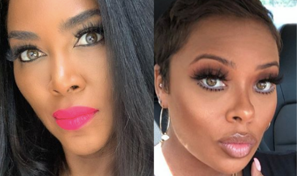 Kenya Moore Says Eva Marcille's Comments About Her Having A Baby Late In Life Are Uncalled For [VIDEO]