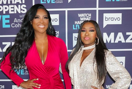 Kenya Moore & Quad Webb-Lunceford Go Tit-For-Tat In Awkward TV Appearance [WATCH]