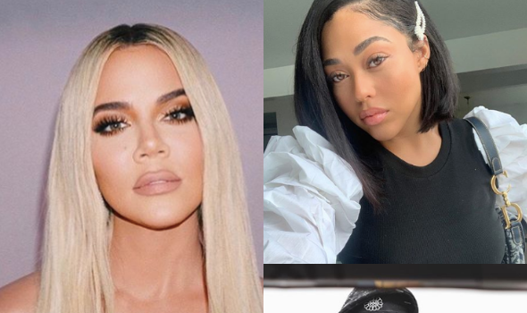 Khloe Kardashian Talks 'Keeping That Same Energy' With Jordyn Woods After Being Criticized For Accepting Gift From Tristan Thompson