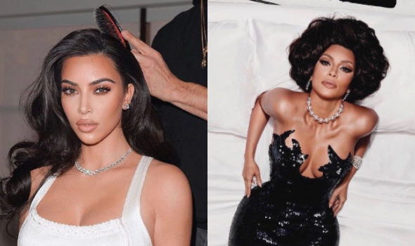 Kim Kardashian Seemingly Explains Shoot Where She Was Accused of Blackface By Critics, Was Channeling Italian Actress Sophia Loren