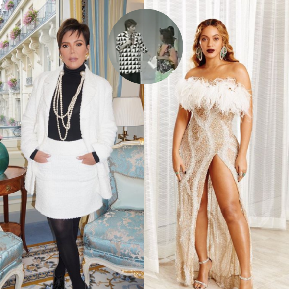 Beyonce Fans Are Convinced Kris Jenner Is Interviewing Singer In This Vintage Clip
