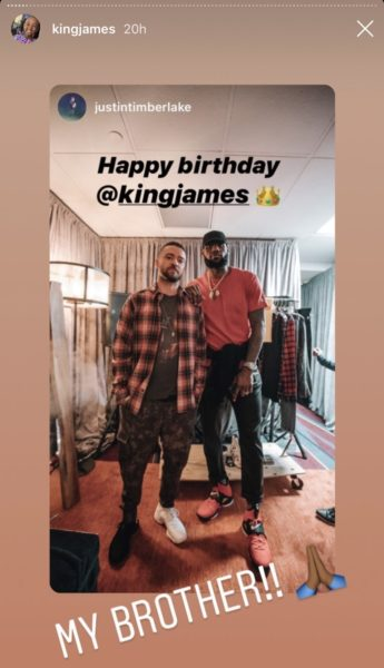 35th Birthday Celebrates His James  With Lakers Lebron
