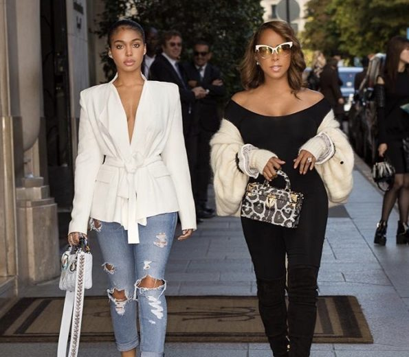Marjorie Harvey Advises Daughter Lori Harvey Not To Date Rappers Or Athletes In Old Clip: Don't Give Yourself To Anybody That Is NOT Your Husband