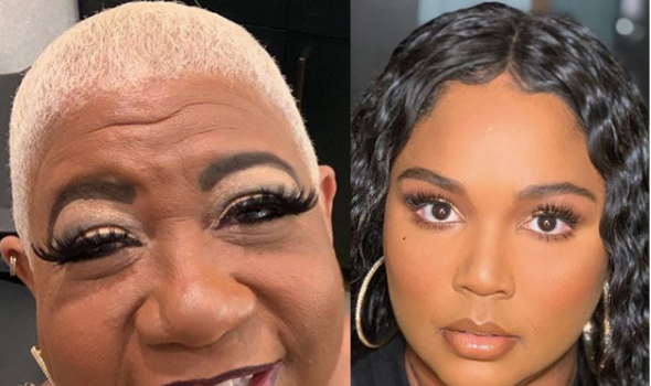Luenell Posts Throwback Pictures From Her Nude Photoshoot & Reminds Lizzo 'I Did It First' + Wants To Collab With Singer For 'Baby Oiled Photoshoot Or Music Video'