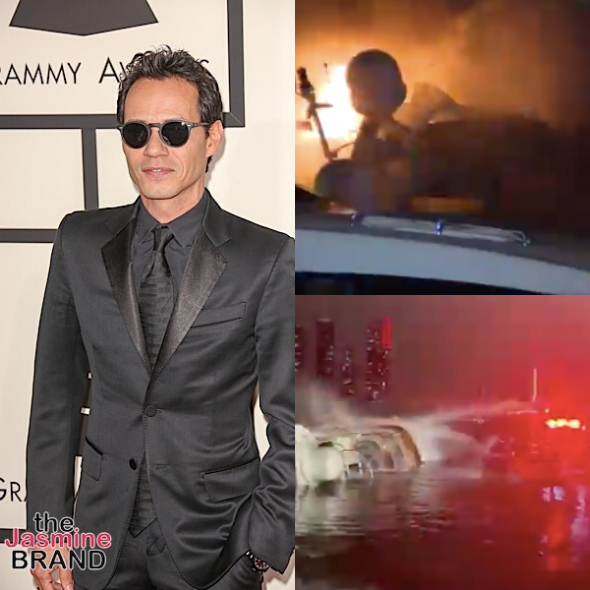 Marc Anthony's Yacht Catches on Fire In Miami, Took 45+ Firefighters To Put It Out
