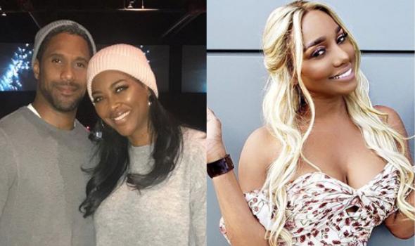 Kenya Moore Upset Over Husband Marc Daly 'Always Kissing NeNe Leakes' A**'