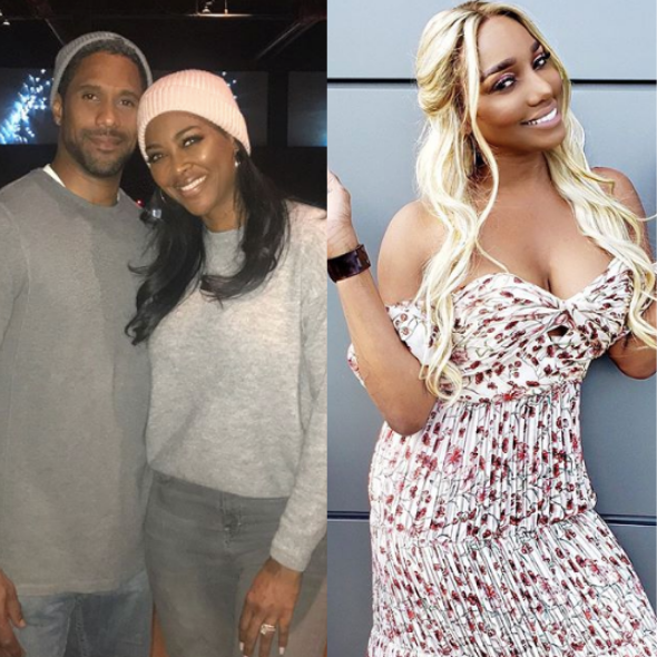 Kenya Moore Upset Over Husband Marc Daly 'Always Kissing NeNe Leakes' A**'