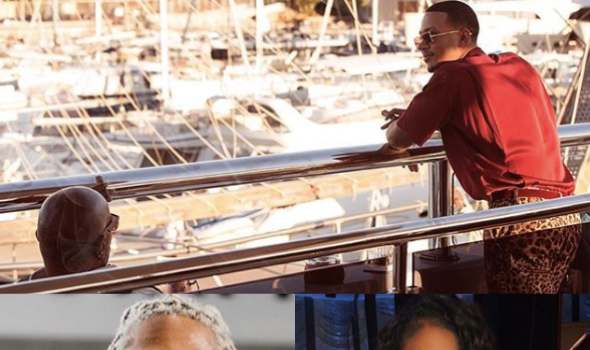 Lori Harvey's Ex-Fiance Hangs Out With Stepdad Steve Harvey + Lori Reportedly Vacations In Nigeria With Future [PHOTOS]