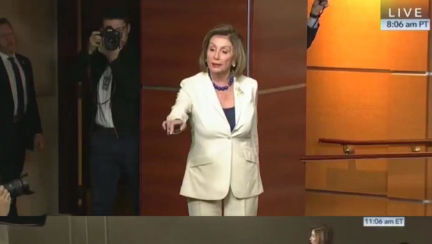"Nancy Pelosi Slams Reporter For Asking If She ""Hates Donald Trump:"" ""I Resent You Using The Word Hate!"""