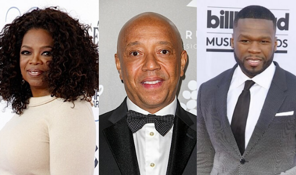 "Oprah Winfrey To Executive Produce Docu About Russell Simmons' Sexual Assault Accusations, Russell & 50 Cent Respond: ""Oprah Is Going After Black Men!"""