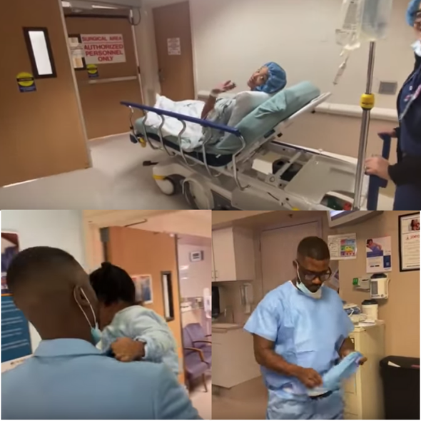 Ray J Shares Footage From Hospital Amid Rumors That His & Princess Love's Baby Has Arrived