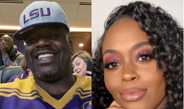Shaquille O'Neal Shoots His Shot With 'Black Lightning' Actress Nafessa Williams: I'll Give You The World