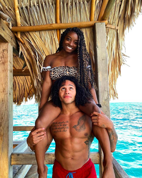 Simone Biles Vacations With Boyfriend Stacey Ervin, Jr. In Belize [PHOTOS]