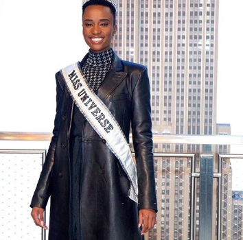 Miss Universe Zozibini Tunzi Emotionally Reflects On Winning The Crown: Of All The Countries & Amazing Women, The Universe Chose Me