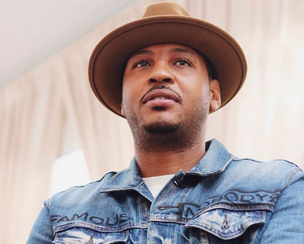 Carmelo Anthony Reacts To Being Named Conference Player of The Week After 9 Month NBA Hiatus