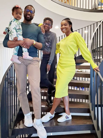 Dwyane Wade Defends Family Photo After Son's Attire Criticized