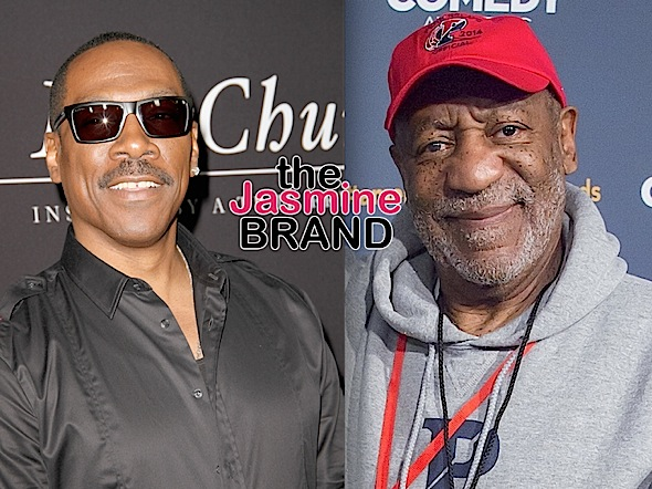 Bill Cosby's Publicist Calls Eddie Murphy A 'Hollywood Slave' Over SNL Joke