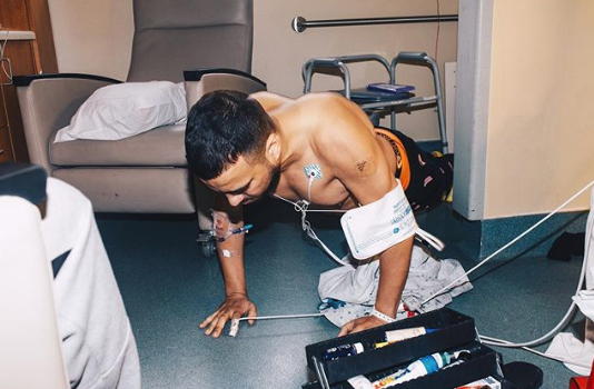French Montana Announces New Album From Hospital Room [Photo]