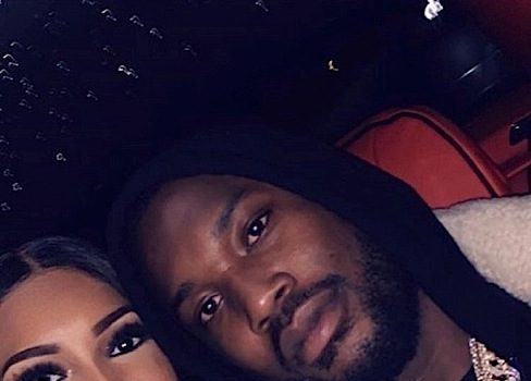 Meek Mill & Rumored Pregnant Girlfriend Appear To Hit The Spa Together [PHOTOS]