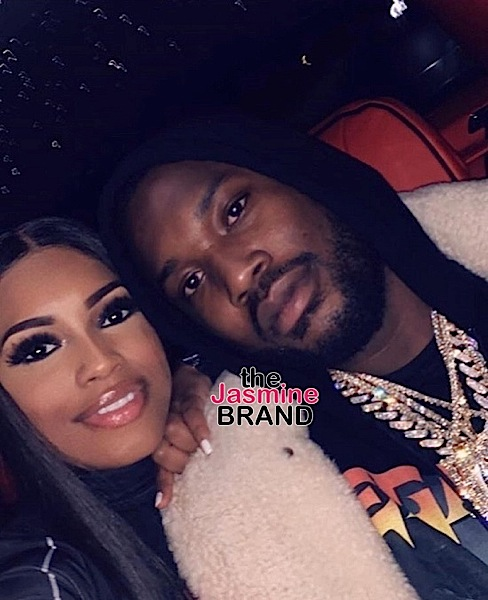 Is Meek Mill Addressing Rumored Girlfriend Milan Harris' Pregnancy With This Tweet?