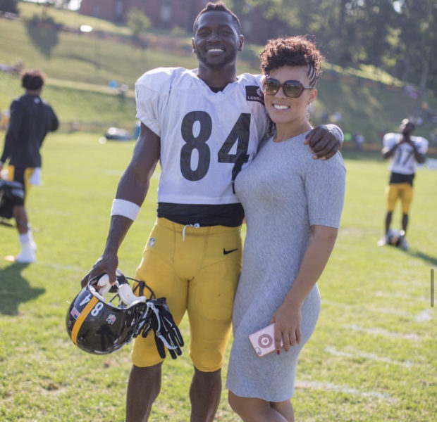 Antonio Brown Reveals He Proposed to Chelsie Kyriss Months After Accusing Her Of Trying To Steal His Bentley