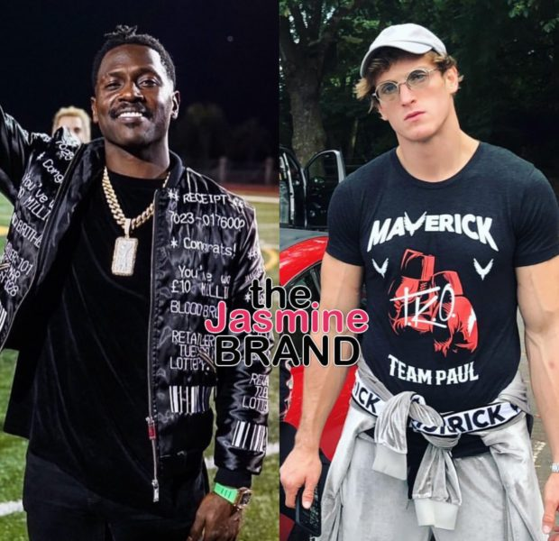 Ex-Patriot WR Antonio Brown Challenges YouTube Star Logan Paul To Boxing Match