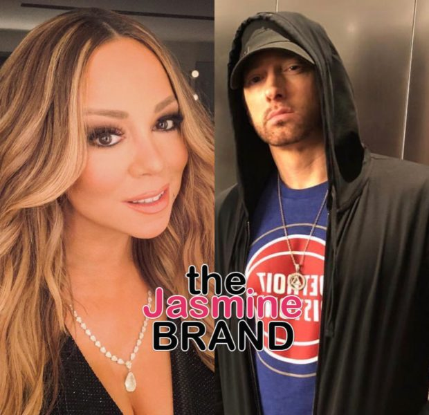 Eminem Is 'Stressed' That Mariah Carey Will Discuss Their Sex Life In New Book