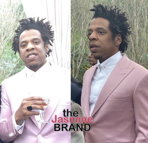 Jay-Z Hilariously Explains The Color Of His Suit: It's Mauve, Bro [VIDEO]