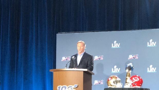 NFL Commissioner Roger Goodell Says League Plans To Address Lack of Minority Hires: We Are Not Where We Want To Be