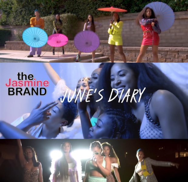 """June's Diary Releases """"I Ain't With It"""" Video"""