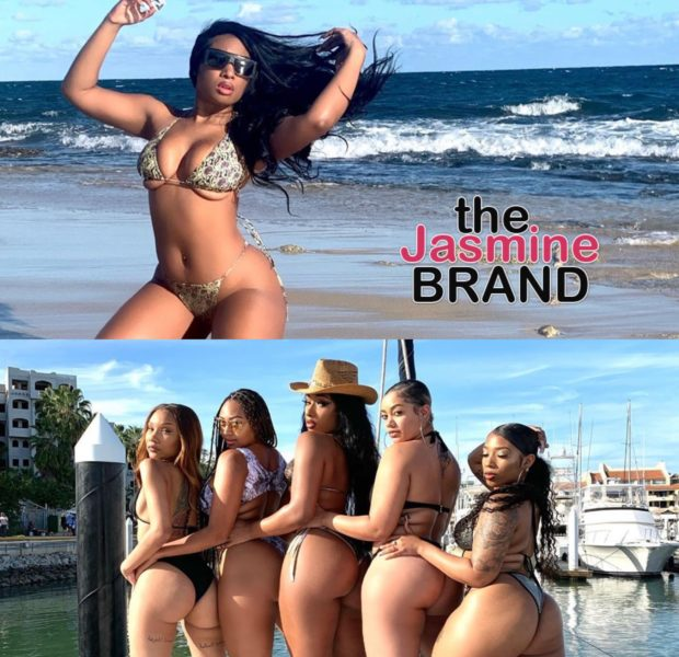 Megan Thee Stallion Throws Epic Girls Get Away On Beach [WATCH]