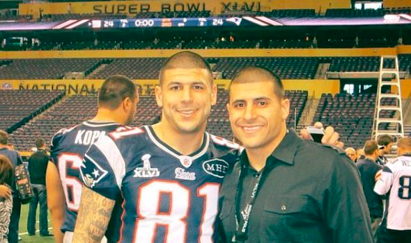 Aaron Hernandez's Brother Says Late NFL Star Opened Up To Their Mom About His Sexuality