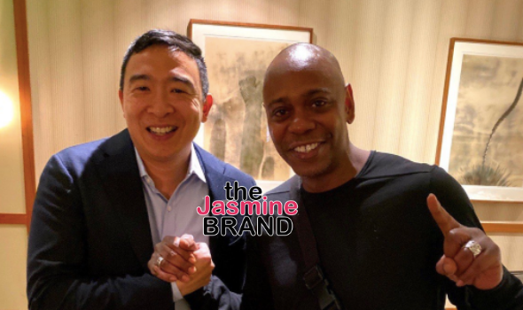 Dave Chappelle Joins Yang Gang, Backs Andrew Yang For President & Will Perform 2 Shows To Help His Campaign