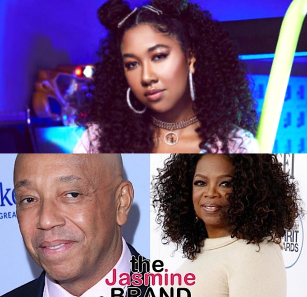 "Aoki Lee Simmons Shares Cryptic Message To Oprah Winfrey Amid Docu Scandal Involving Her Dad, Russell Simmons: ""You Don't Even Know How Mad Oprah Makes Me!"""