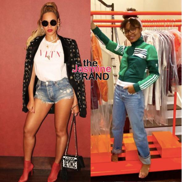 Yara Shahidi Gifted With Beyonce's Upcoming Ivy Park X Adidas Line [WATCH]
