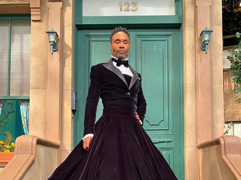 Billy Porter Reacts To Criticism Over Him Wearing A Dress On 'Sesame Street': Stay Out Of My Bedroom & You'll Be Fine, That's None Of Your Business